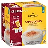 Cheap Gevalia Cappuccino Espresso Coffee with Froth Packets, K-Cup Pods, 9 Count