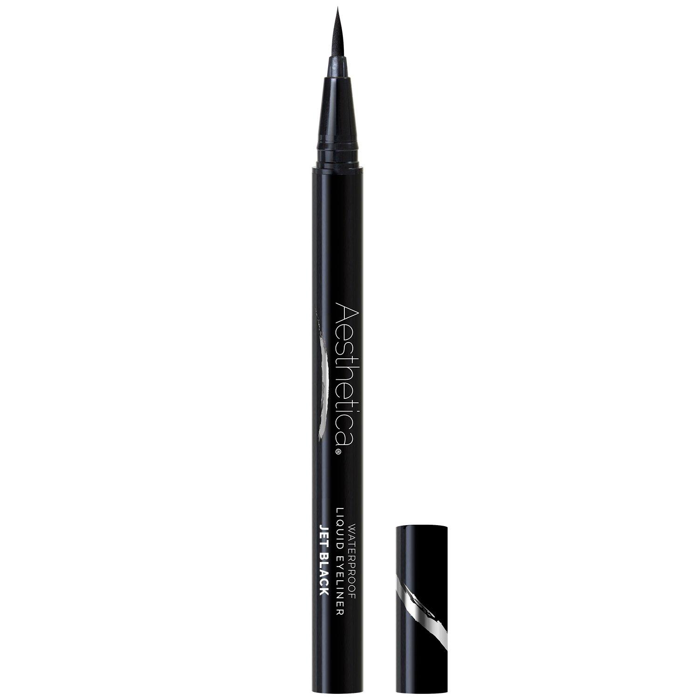 Aesthetica Felt Tip Eyeliner Pen, Jet Black, Waterproof Smudgeproof