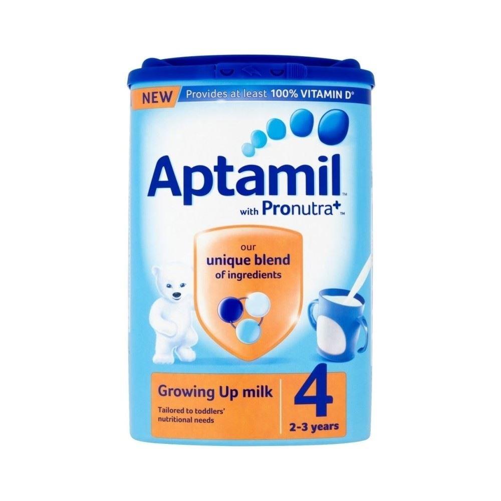 Aptamil Growing Up Milchpulver für Kleinkinder 2yr + (800 g) - Packung mit 2