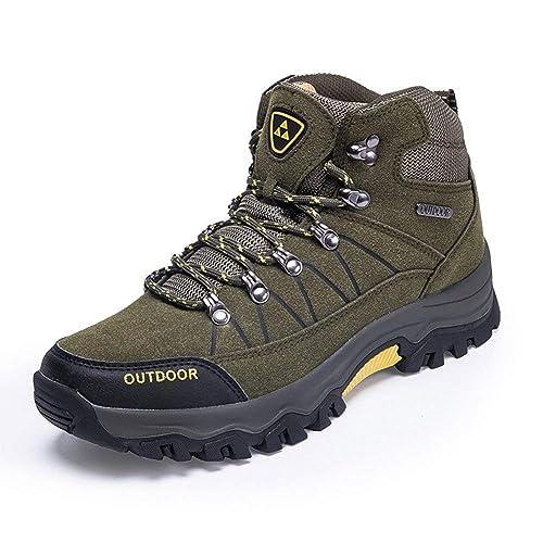 693e77cb26229 Amazon.com | Super frist Men's Lightweight Comfortable Hiking Boots ...