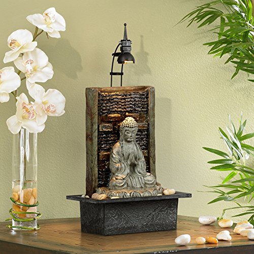 Namaste Buddha 11 1 2 Quot High Indoor Table Fountain Buy