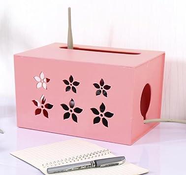 Caja de almacenamiento para router de WiFi, caja de plástico con ...