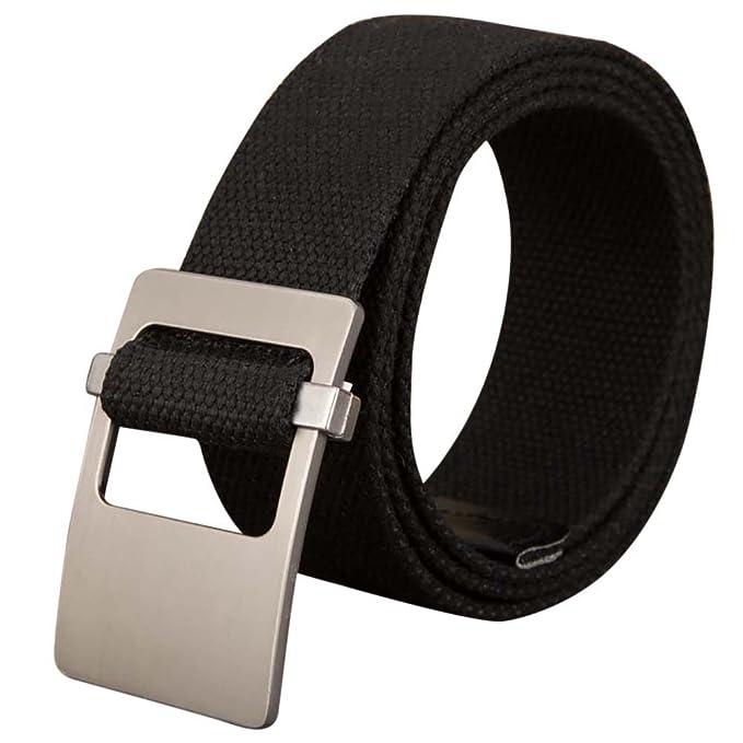l'atteggiamento migliore c8cea 06409 iShine cintura fibbia uomo cinture uomo tessuto cinture ...