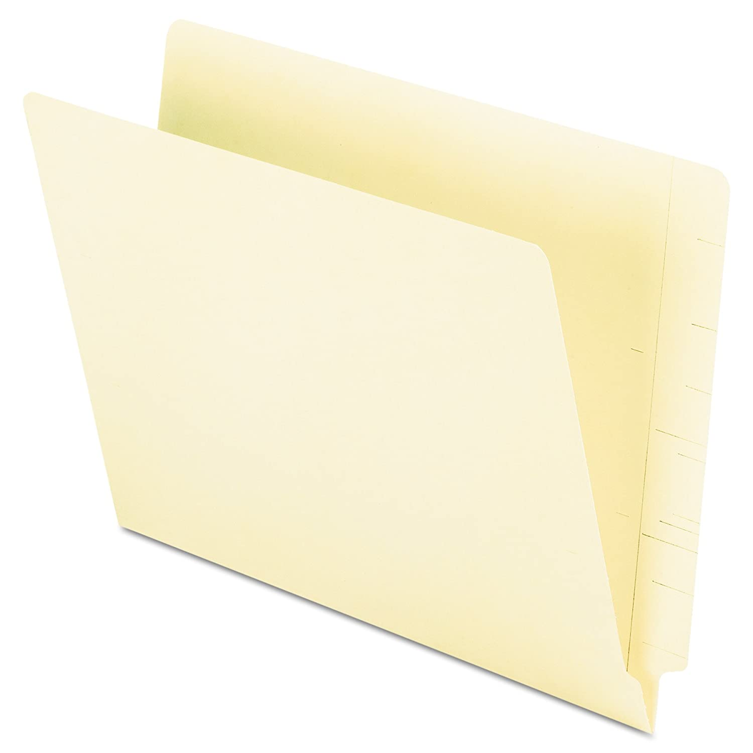 Pendaflex End Tab Folders, Full Tab, Letter Size, Manila, 100 per Box (H110D) Esselte