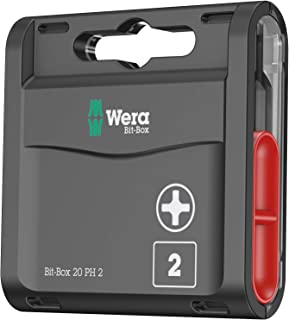 "Driver 05052502001 Rapidaptor 1//4/"" Drive Hex 50 mm Wera Universal Bit Holder"