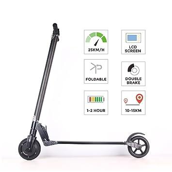 Eléctrico Roller bebk Max.20 km/H, E de scooter Samsung ...