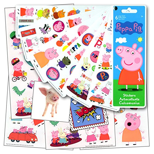 Peppa Pig Stickers Pack Bundle with Specialty Separately