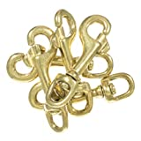 Brass Swivel Snap Hooks - Diverse and