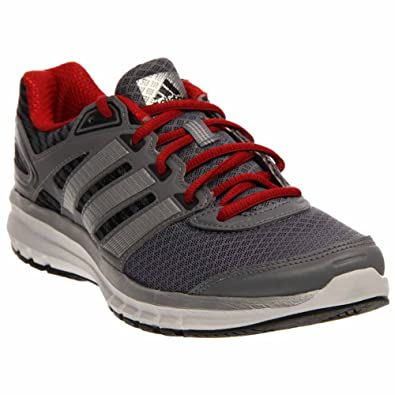 New Adidas Men's Duramo 6 Running Shoes Grey/Scarlet 7