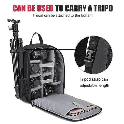 tablet storage compa Large shoulder bag for SLR camera and accessories storage