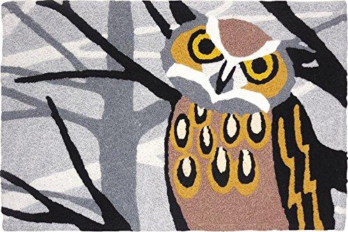 jelly bean rug owl - 3