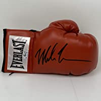 $134 » Autographed/Signed Mike Tyson Red Everlast Boxing Glove Athlete Hologram COA