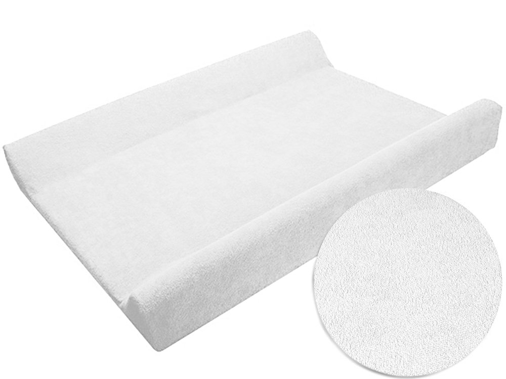 Changing Mat Cover Terry 70x50 cm With Raised Edges - Cream BabyComfort