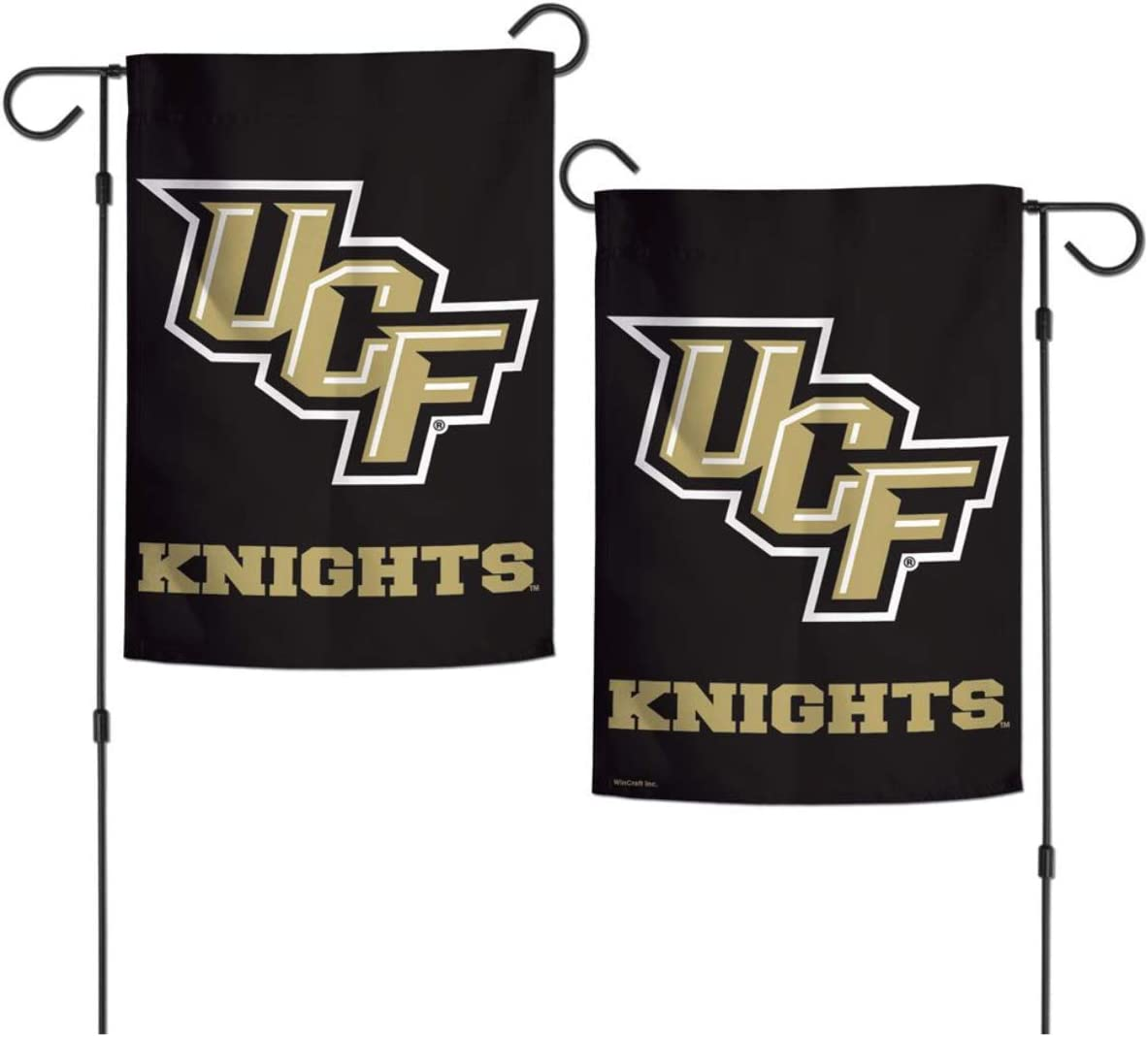 """WinCraft University Central Florida UCF Knights 12"""" x 18"""" Inch 2-Sided Design Outdoor Garden Flag"""