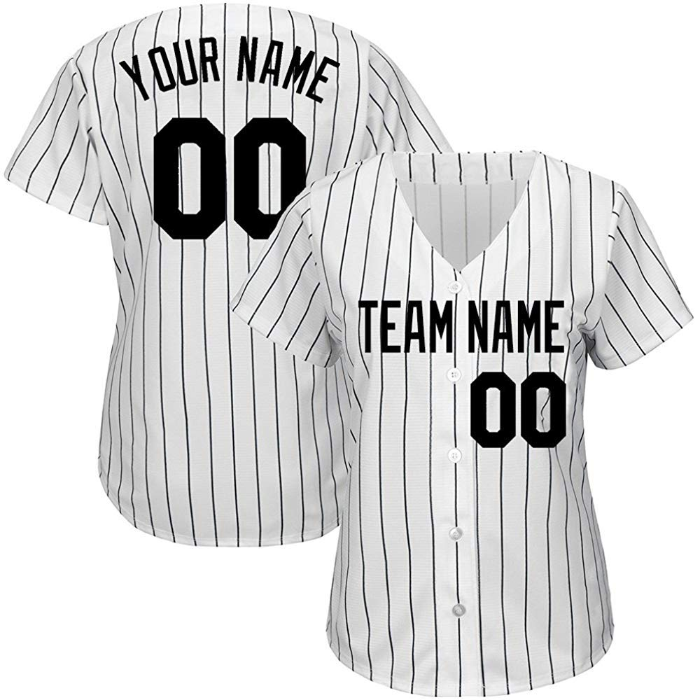 9dc5f9fcdc9 Hygroscopic and breathable dry perspiration, custom baseball jerseys with stitched  name and numbers. 5 LAYOUT options, select your SIZE and click CUSTOMIZE ...