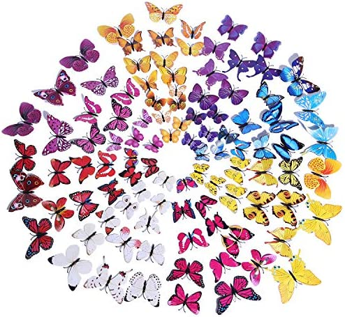 Butterfly Stickers Decorations Classroom Bathroom