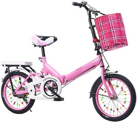 Axdwfd Infantiles Bicicletas Bicicletas para niños 16/20 Pulgadas ...