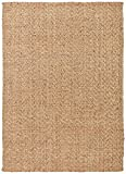 Stone & Beam Contemporary Textured Jute Rug, 8′ x 10′, Natural Review