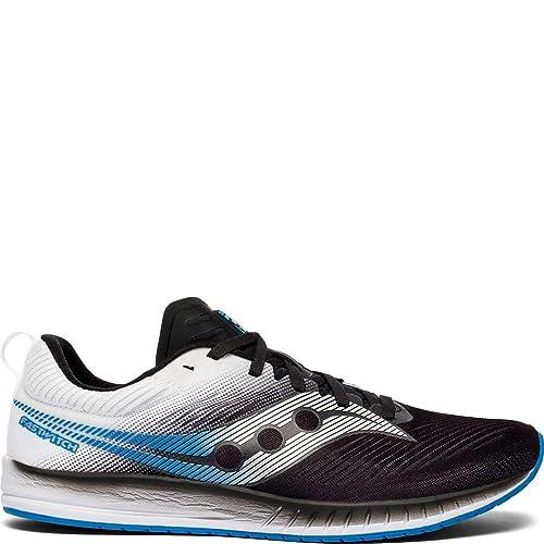 Saucony Fastwitch 9 Shoes Herren Black White 2019 Laufsport Schuhe