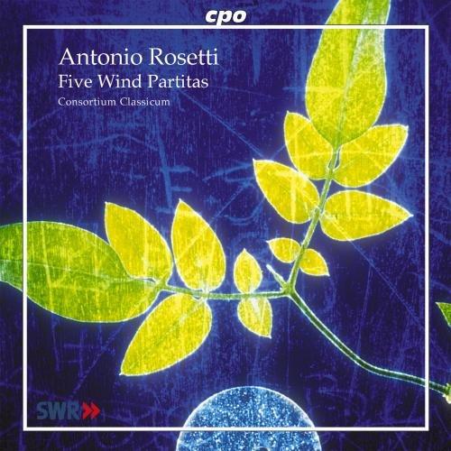 Rosetti: Five Wind Partitas (Sextet Jazz Chamber)