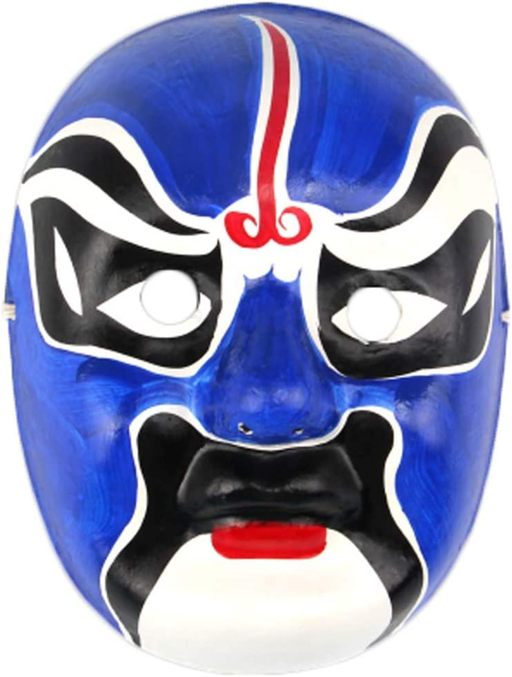 Black Temptation Producto Local Especial Ópera de Pekín Máscara Colección de Cultura Tradicional China Adorno Colgante # 05: Amazon.es: Juguetes y juegos