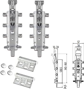 Cocina armario para colgar soportes para montaje en pared colgador de armarios placa 63/mm