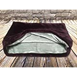 snuggle bag sleeping bag pet bed for cats or dogs by lolau0027s pet plum