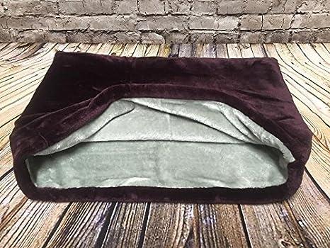 Snuggle - Carcasa bolsa/saco de dormir/mascotas cama para gatos o perros por Lola de PET, color morado y gris: Amazon.es: Productos para mascotas