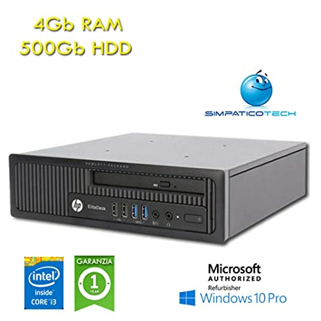 PC HP EliteDesk 800 G1 USDT Core i3-4330 3,5 GHz 4 GB RAM ...