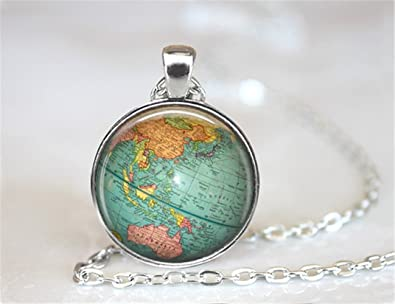 Amazon earth necklace earth globe necklace globe jewelry earth necklace earth globe necklace globe jewelry earth pendant earth globe necklace aloadofball Choice Image