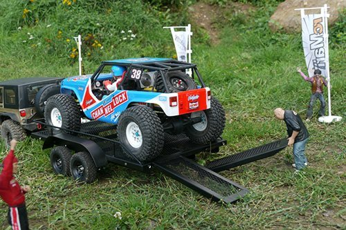 Xtra-Speed-110-Heavy-Duty-Truck-and-Car-Trailer-For-110-18-Crawler-Truck-Car-XS-59619-by-Xtra-Speed