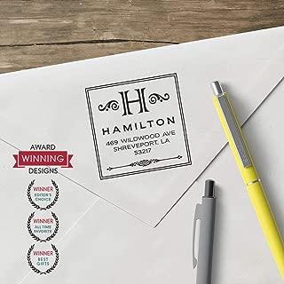 product image for World'S Favorite Custom Address Stamp – Three Designing Women, The Hamilton Design (CS3220)