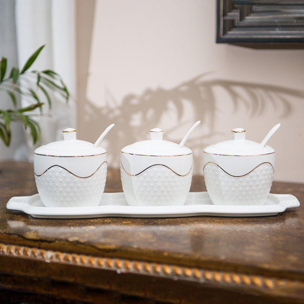 Spice gläser,Gewürz-veranstalter Keramik vorratsdosen Keramik glas ...