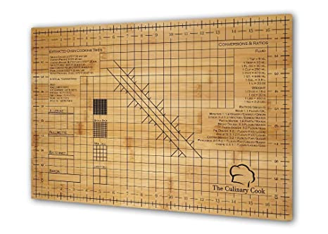 large bamboo wood cutting board reference guide \u0026 grid design antibacterial eco friendly end grain (12 x 18 x 1 in ) by the culinary cook Cutting Vegetative Propagation Diagram