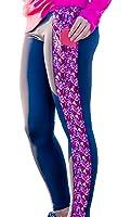 Devon Maryn Women's Lobster Print Yoga Compression Leggings w/ Side Pockets