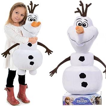 La Reine des Neiges Olaf le bonhomme de neige disney peluche figurine 65 cm GRANDE XXL