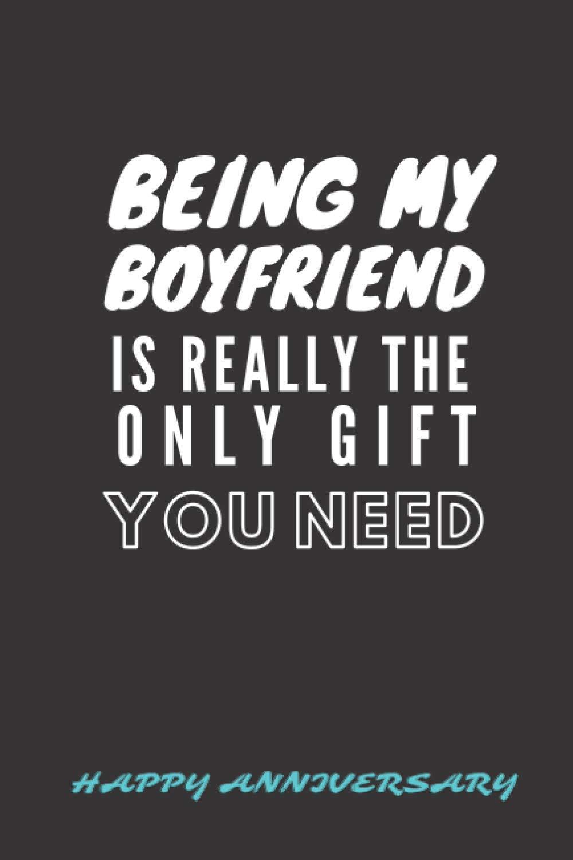 Boyfriend gift for six ideas month 6 Month