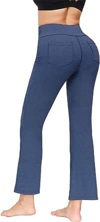 Zexxxy Women's Bootcut Yoga Pants Long Workout Pants