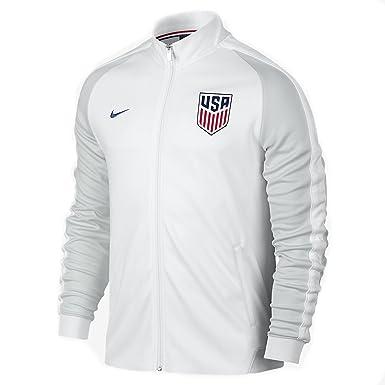 new concept the best attitude discount Nike U.S.A N98 Authentique Veste (blanc) (M): Amazon.fr ...