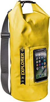 Celly EXPLORER10LYL Bolsa Impermeable Amarillo: Amazon.es ...