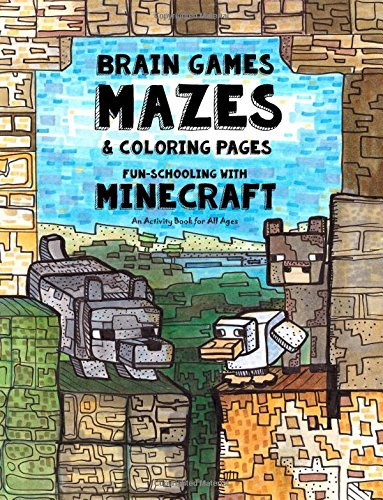 Brain Games Mazes Coloring Pages product image