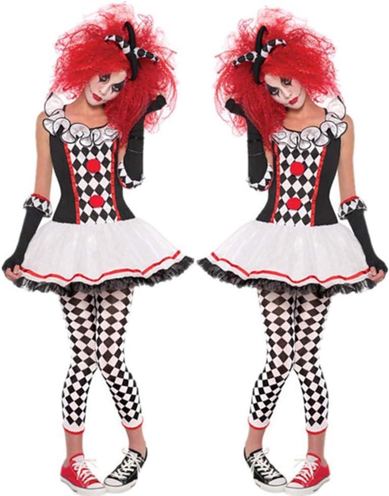 Adulto Harley Quinn Disfraz Halloween Cosplay Arlequín Payaso ...