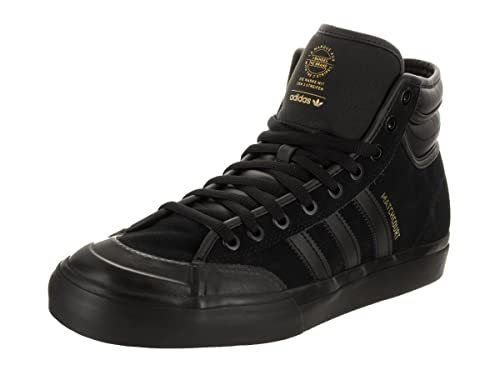 098225f842 adidas Skateboarding Men s Matchcourt High RX2 quot  Top Ten Core  Black Core Black Gold
