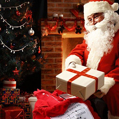 HOOPLE X'mas Present Sacks Christmas Bags for Kids Personalize Christmas Gift Wrap Santa Sacks (Random-6 packs) by Hoople (Image #8)