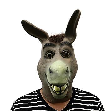 Máscara de Halloween Máscara de Terror de Látex Máscara Calavera Máscara de demonio para Fiesta de