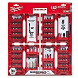 Milwaukee Shockwave Impact Duty Steel Drill Bits and Screw Driver Set 142 pc.