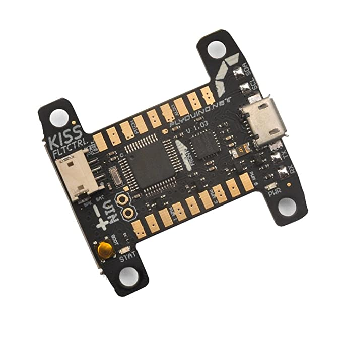 Amazon.com: Creazy Flyduino KISS FC 32bit Flight Controller V1.03 for FPV Multirotor Quadcopter: Toys & Games