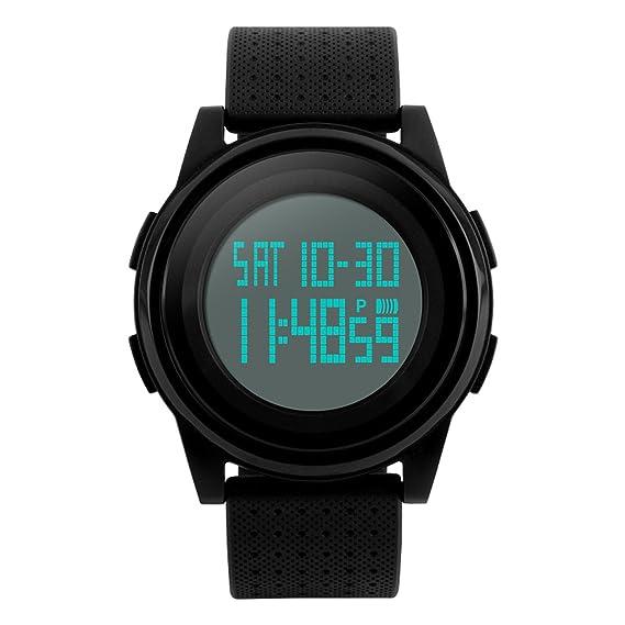 Amazon com: Kids Digital Sport Watch LED Military Waterproof