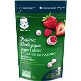 GERBER Organic Yogurt Melts, Red Berry, 28 Grams (Pack of 7)