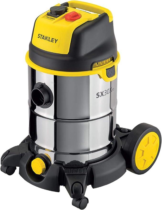 STANLEY 51695 Aspiradora con depósito 30 L, 1600 W: Amazon.es: Bricolaje y herramientas